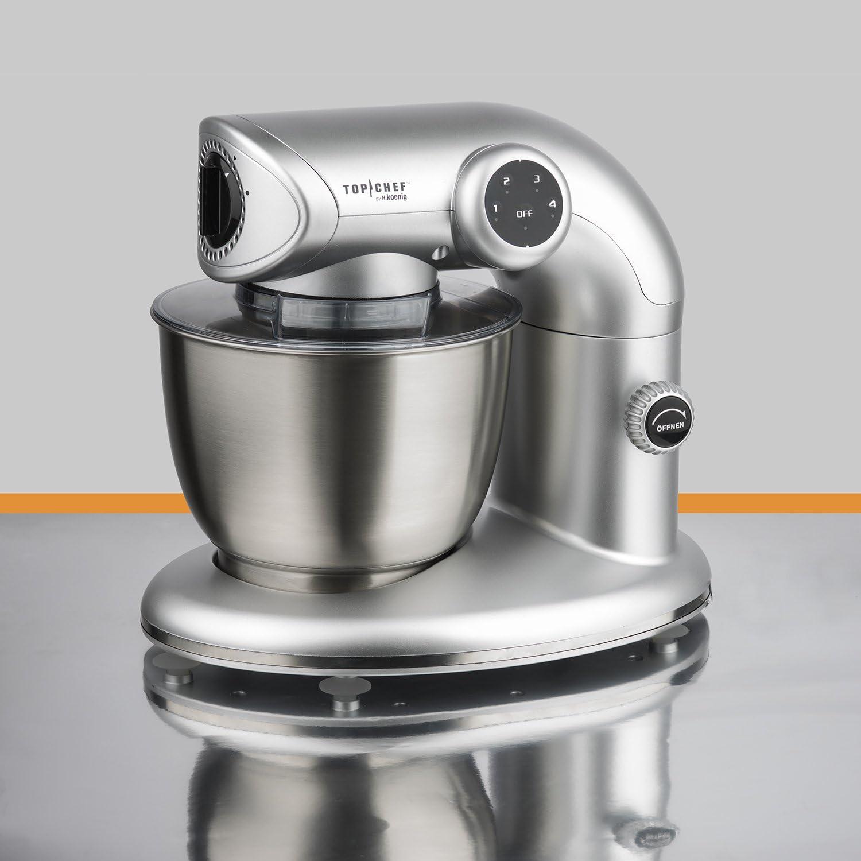 H. Koenig Top Chef topc416 Robot de cocina – Amasadora 1000 W ...
