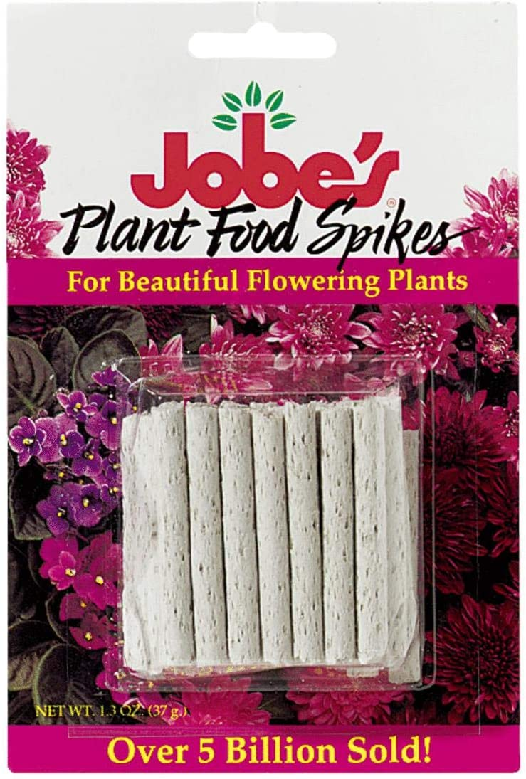 Jobes 5201T Flowering Plant Food Spikes 10-10-4 50 Pack