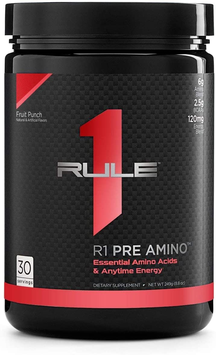 R1 Pre Amino 30 Serv Fruit Punch, 249g