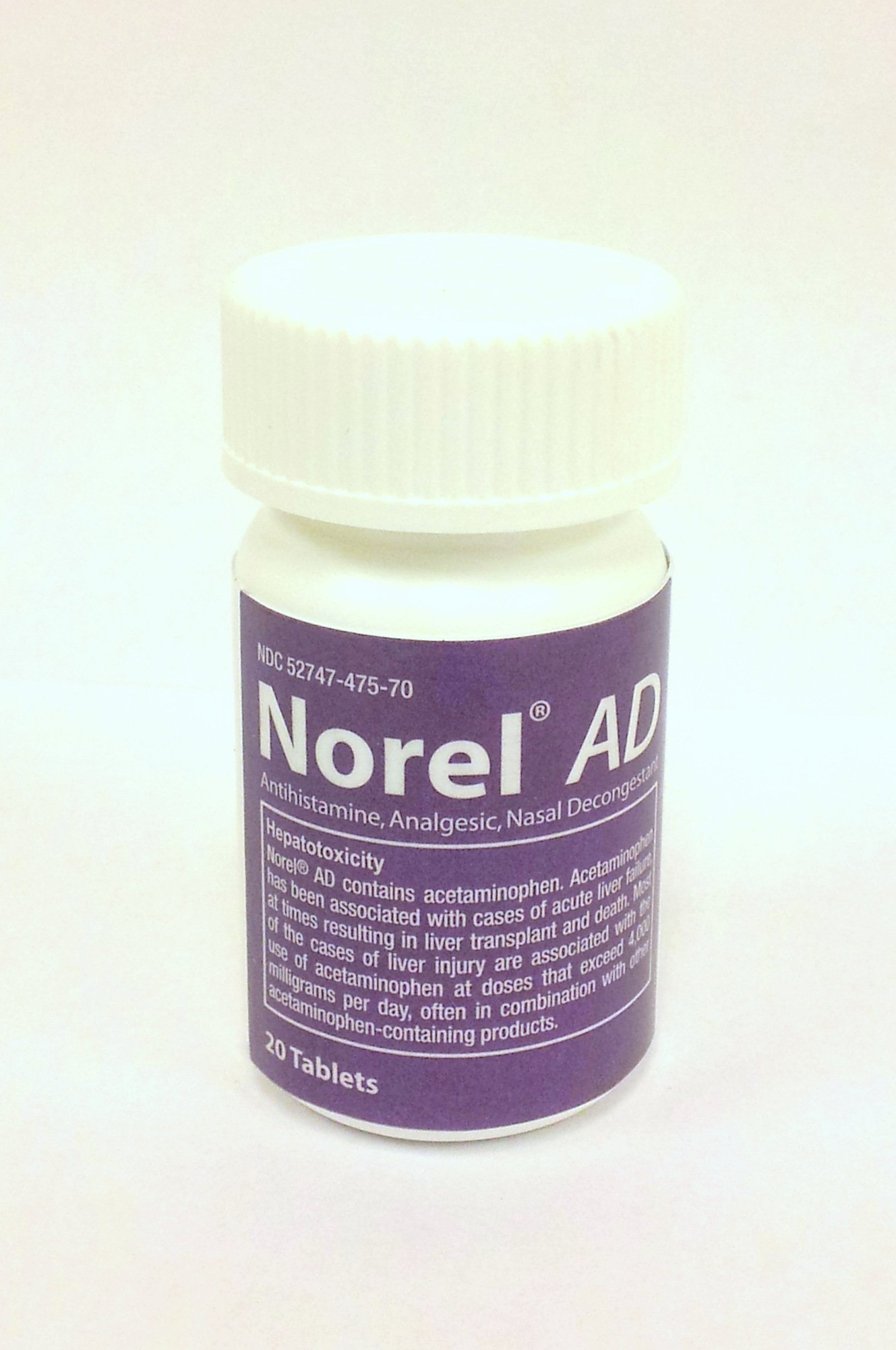 Norel AD Pain Reliever, 20 CT by Acrimony Lounge
