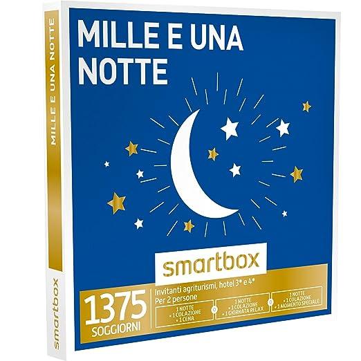 7 opinioni per SMARTBOX- Cofanetto Regalo -MILLE E UNA NOTTE 1 notte con colazione e 1 cena o 1