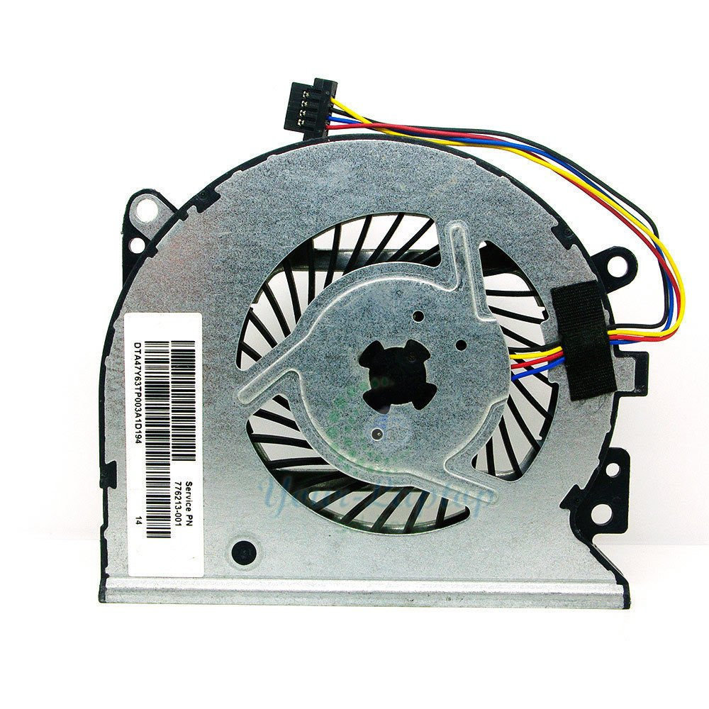 qinlei New Laptop CPU Cooling Fan for HP Envy X360 15-U010DX P/N: KSB0705HBA07 47Y61TP002A 776213-001 47Y63TP00