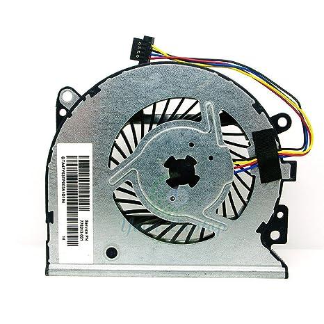 qinlei New Laptop CPU Cooling Fan for HP Envy X360 15-U010DX P/N:  KSB0705HBA07 47Y61TP002A 776213-001 47Y63TP00