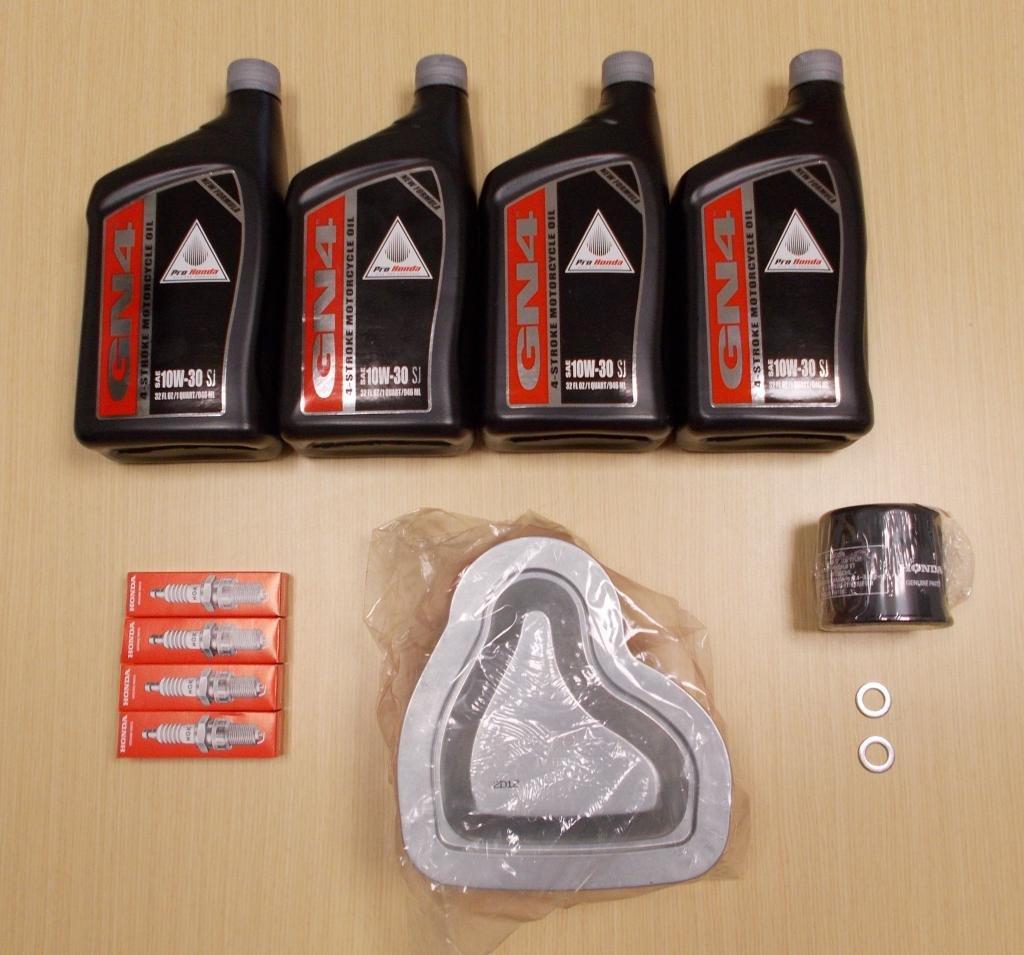 New 2002-2008 Honda VTX 1800 VTX1800 OE Complete Oil Service Tune-Up Kit by Honda