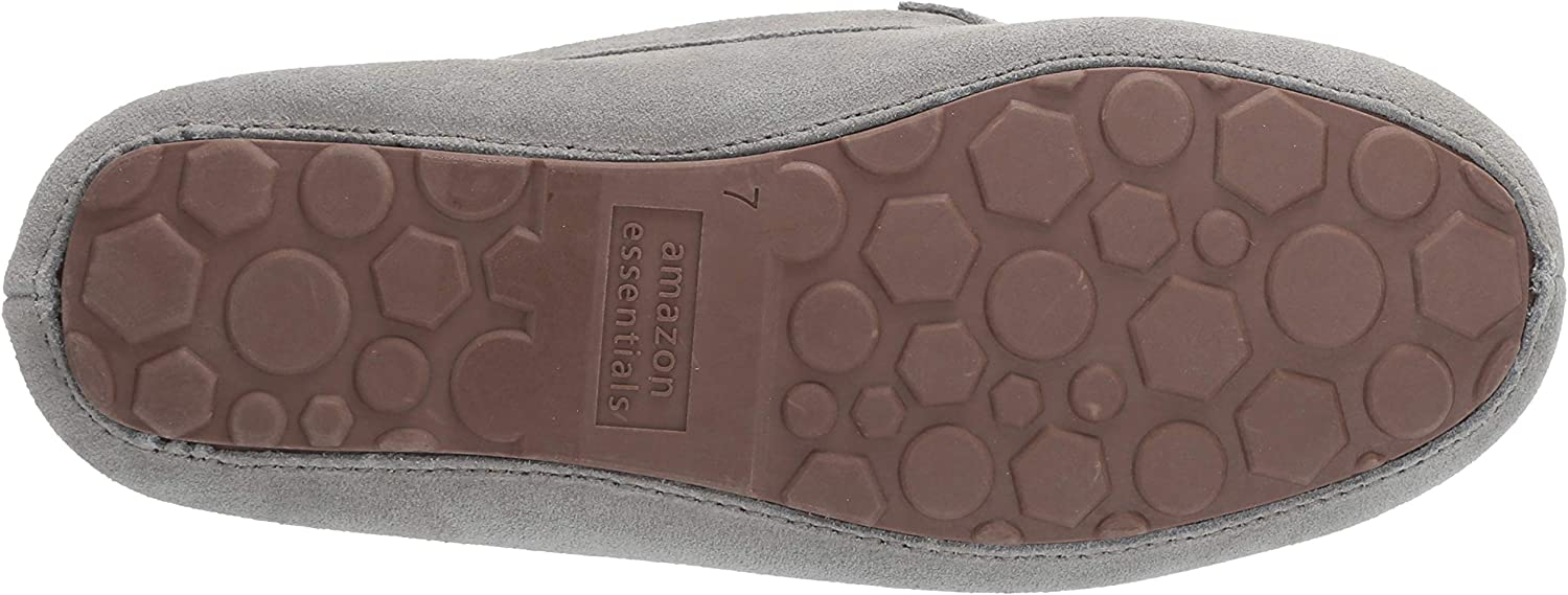 Essentials Womens Pine Leather Moccasin Slipper