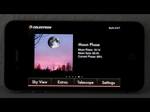 Celestron skyq link teleskopsteuerung für amazon kamera