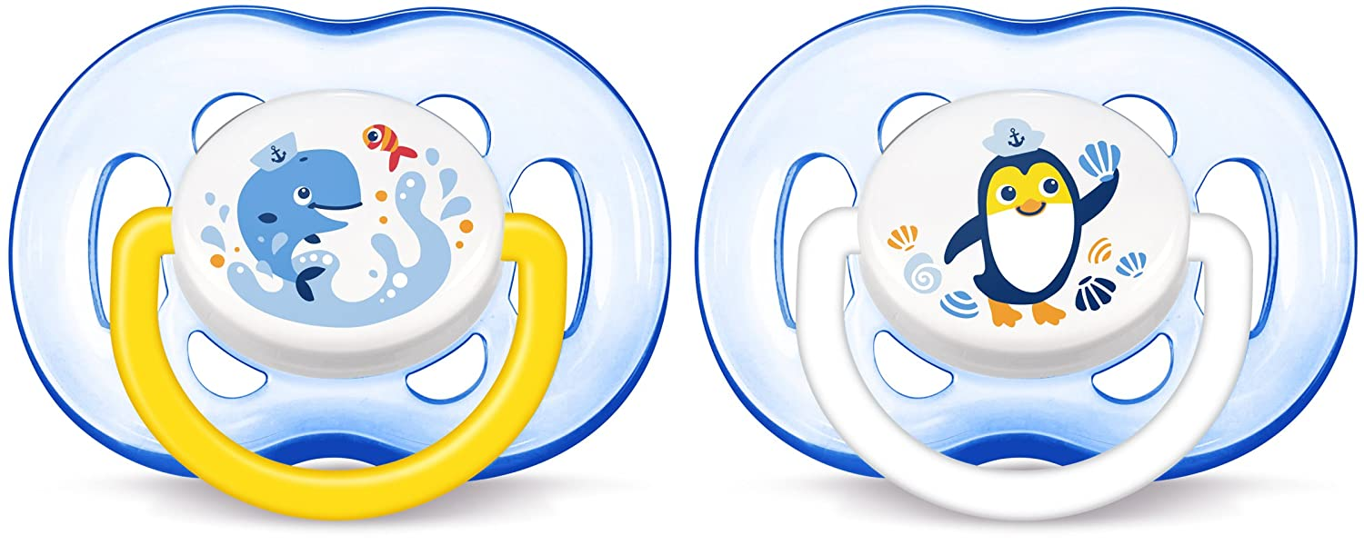 Philips SCF186/24 Avent Freeflow soothers (18 Months Plus, Pack of 2)