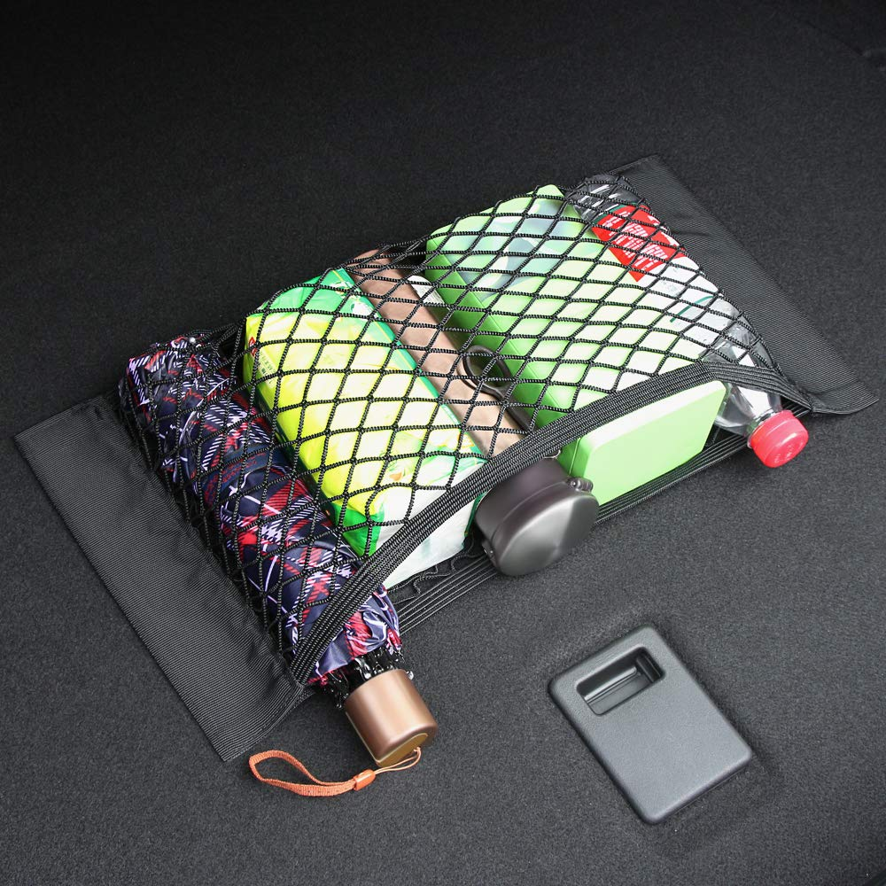 2 Pcak Bucada Storage Net For Bottles,Groceries,Storage Organizers for Car Truck//Trunk//SUV