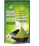 Organic Matcha Green Tea Powder - Japanese Culinary Grade Matcha - 4 oz (113 grams) - Increases Energy and Focus and Naturally Supports Weight Loss - From Kiss Me Organics