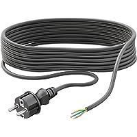 ledscom.de Enchufe schuko con 5m Cable para Exterior
