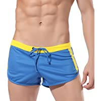 polytree Bañador para bañadores de troncos playa pantalones cortos con cordón