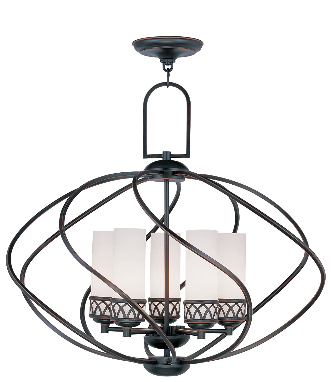Livex Lighting 4725 67 Westfield 5 Light Chandelier Olde Bronze