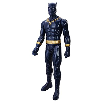 Avengers Marvel Titan Hero Series 12-inch Black Panther Figure: Toys & Games