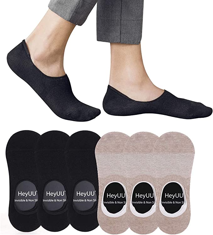 Anti-Slip Unisex Silicone No Show Socks 5 Colors 2019 Best Offer