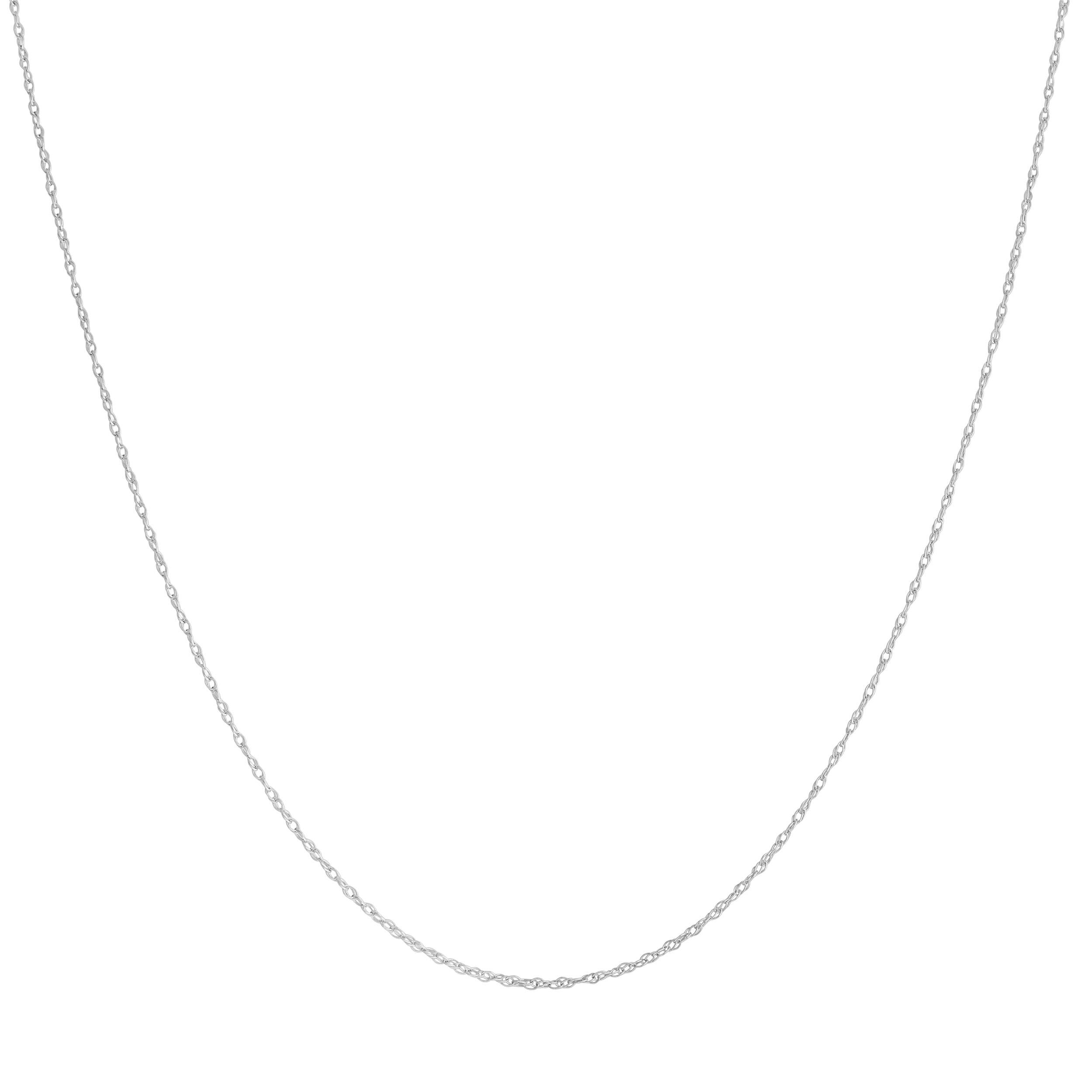 Platinum 950 0.9mm Light Rope Chain (18 inch)