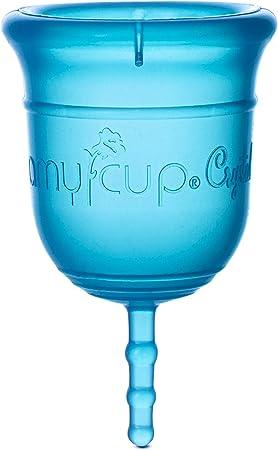 COPA MENSTRUAL AMYCUP® Crystal (amaño S - para las mujeres menores de 30 años)
