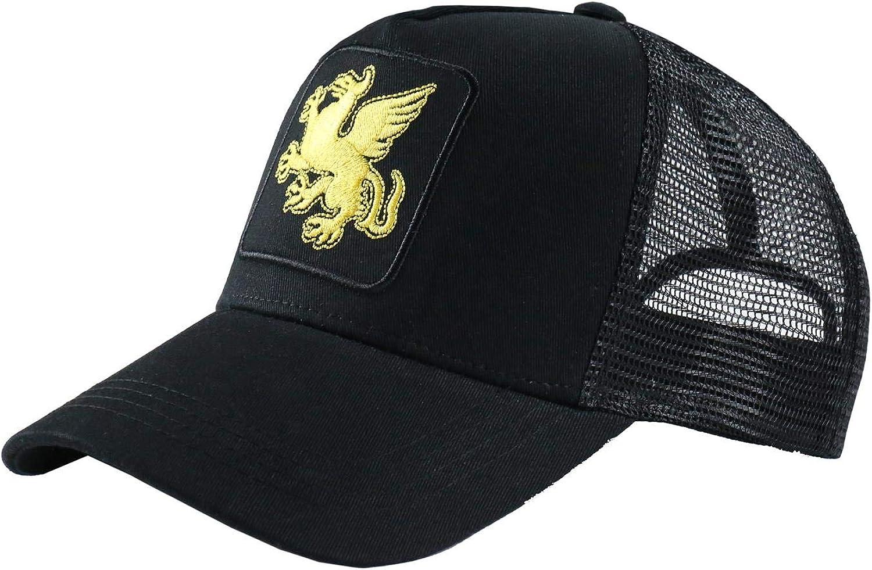 Beautiful Giant Men/'s Embroidered Adjustable Snapback Mesh Trucker Hat Cap