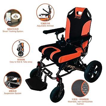 Amazon.com: Smart Wheelchair - Silla de ruedas plegable ...