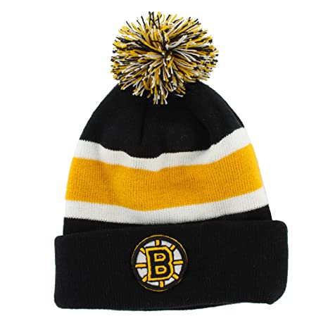 newest 54be6 5ac57 Image Unavailable. Image not available for. Color  NHL Boston Bruins  Breakaway Cuff Knit Cap ...
