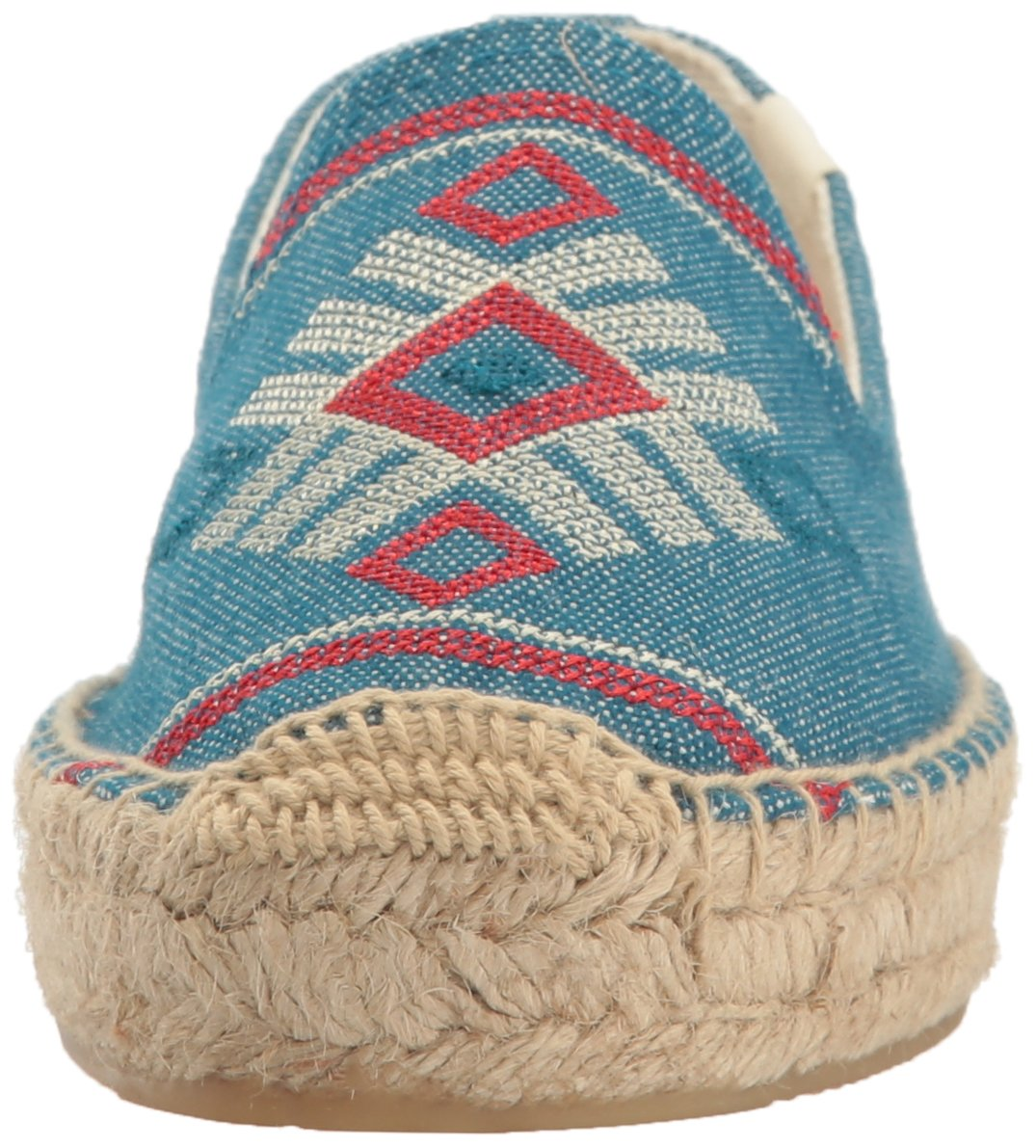Soludos Women's Yucatan Smoking Slipper Flat B01N8P71S2 10 B(M) US|Ocean Blue