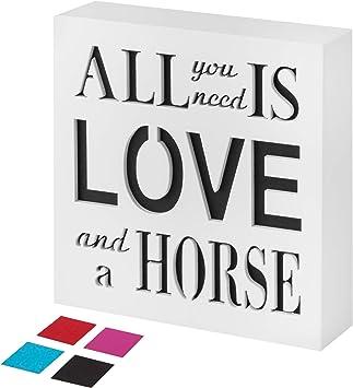 Amazon.com: KAUZA - Carteles de cocina con diseño de caballo ...