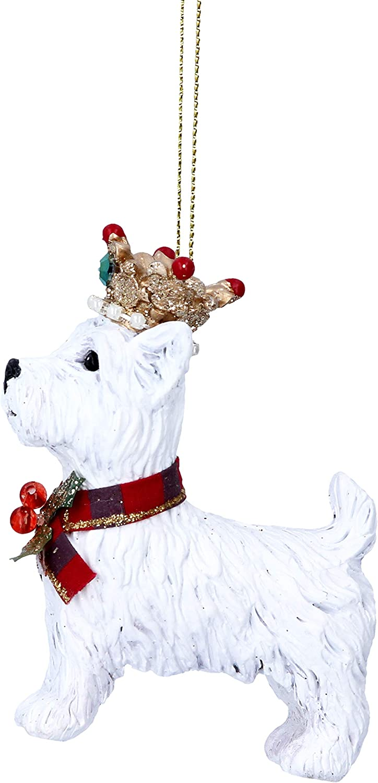 Westie Christmas Decoration.