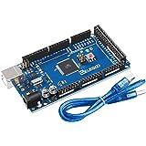 ELEGOO MEGA R3 Board ATmega 2560 + USB Cable Compatible with Arduino IDE Projects RoHS Compliant