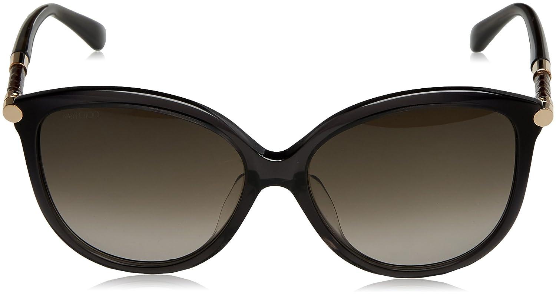 Jimmy Choo Damen Sonnenbrille Tatti/F/S HA W54, Grau (Dark Grey/Brwn Sf), 58