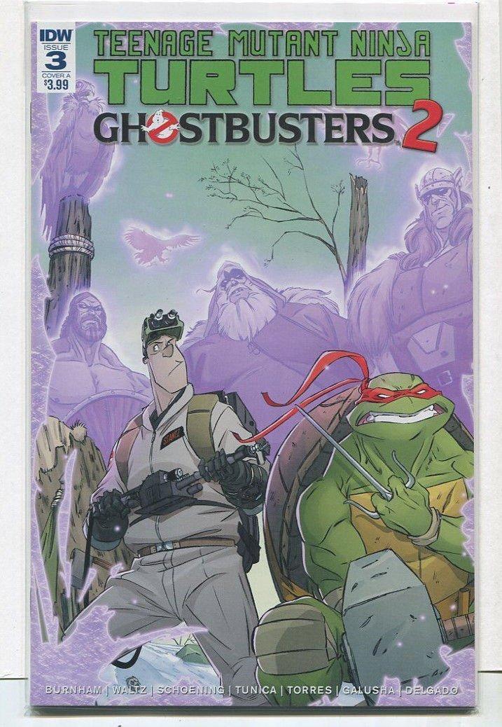 Amazon.com: Teenage Mutant Ninja Turtles -Ghostbusters 2 #3 ...