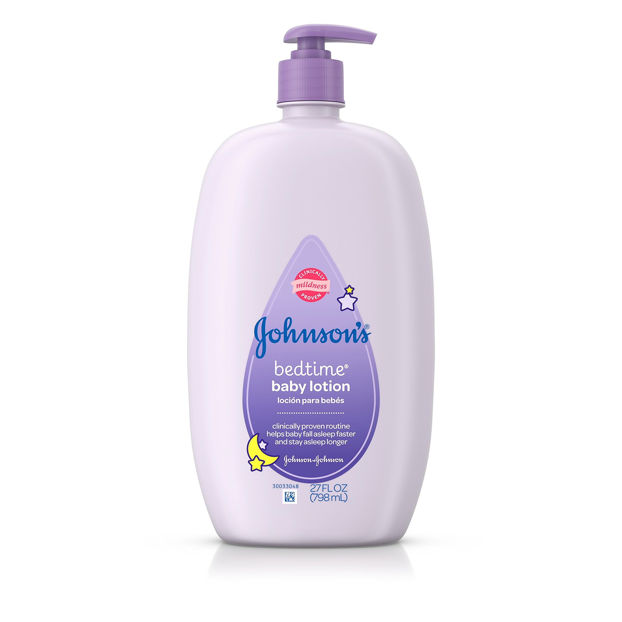 Johnson's Bedtime Hypoallergenic Lotion, 27 Fl. Oz.