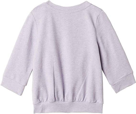 Sweatshirt mit Waffeleisen-Muster und Volantabschluss