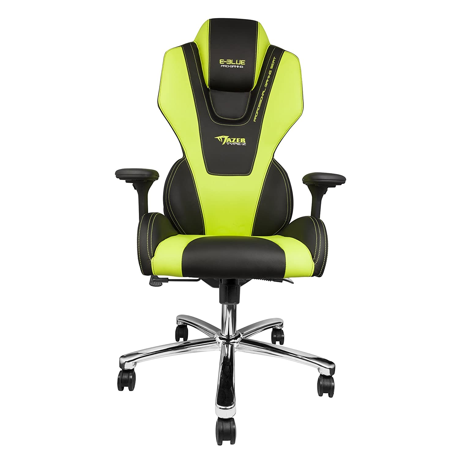 SYMTOP E Blue Mazer Gaming Chair Office Ergonomic Computer ESports Desk  Executive EEC304GR Green: Amazon.co.uk: Kitchen U0026 Home
