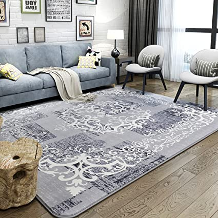 Amazon.com : Fly Simple Modern Living Room Rug Coffee Table Bedroom ...