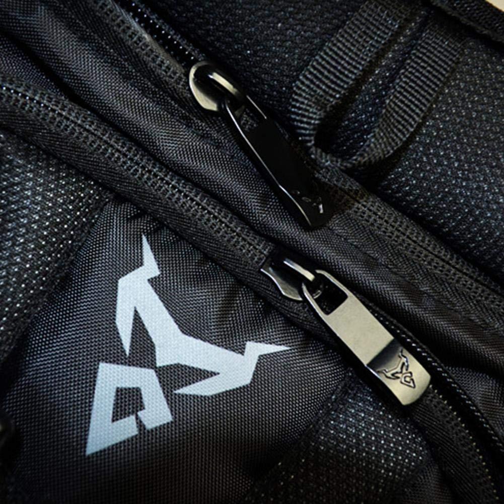 cliff.l Motorcycle Backpack High Capacity Carbon Fiber Hardshell Turtle Backpack Waterproof Rider Bag with Laptop pocket Black