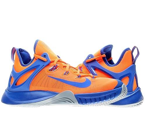 size 40 a1490 7acc6 Nike Zoom HyperRev 2015 Mens Basketball Shoes Total Orange Dove Grey-Lyon  Blue 10 D(M) US  Amazon.in  Shoes   Handbags