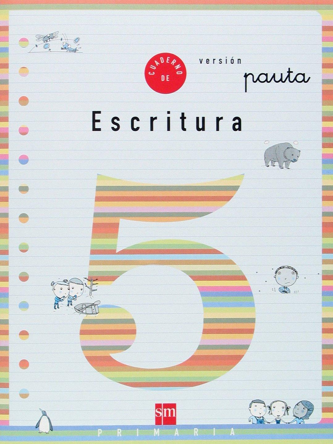 Escritura, 5 Educación Primaria, (versión pauta) ebook