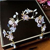 LYM &Headwear Garland Crown tocado nupcial perla accesorios