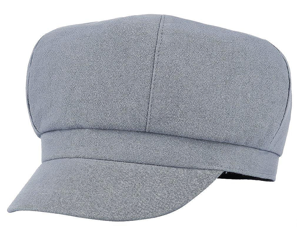 Brcus Women Newsboy Cabbie Peaked Beret Cap Baker Boy Visor Sun Artist Hat