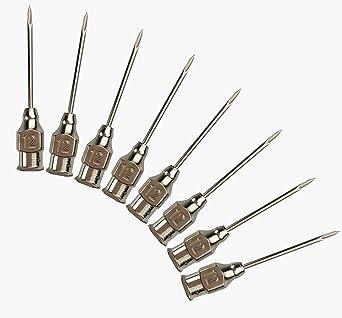 20PACK 18g-1 2-25mm Stainless Steel Needles Veterinary