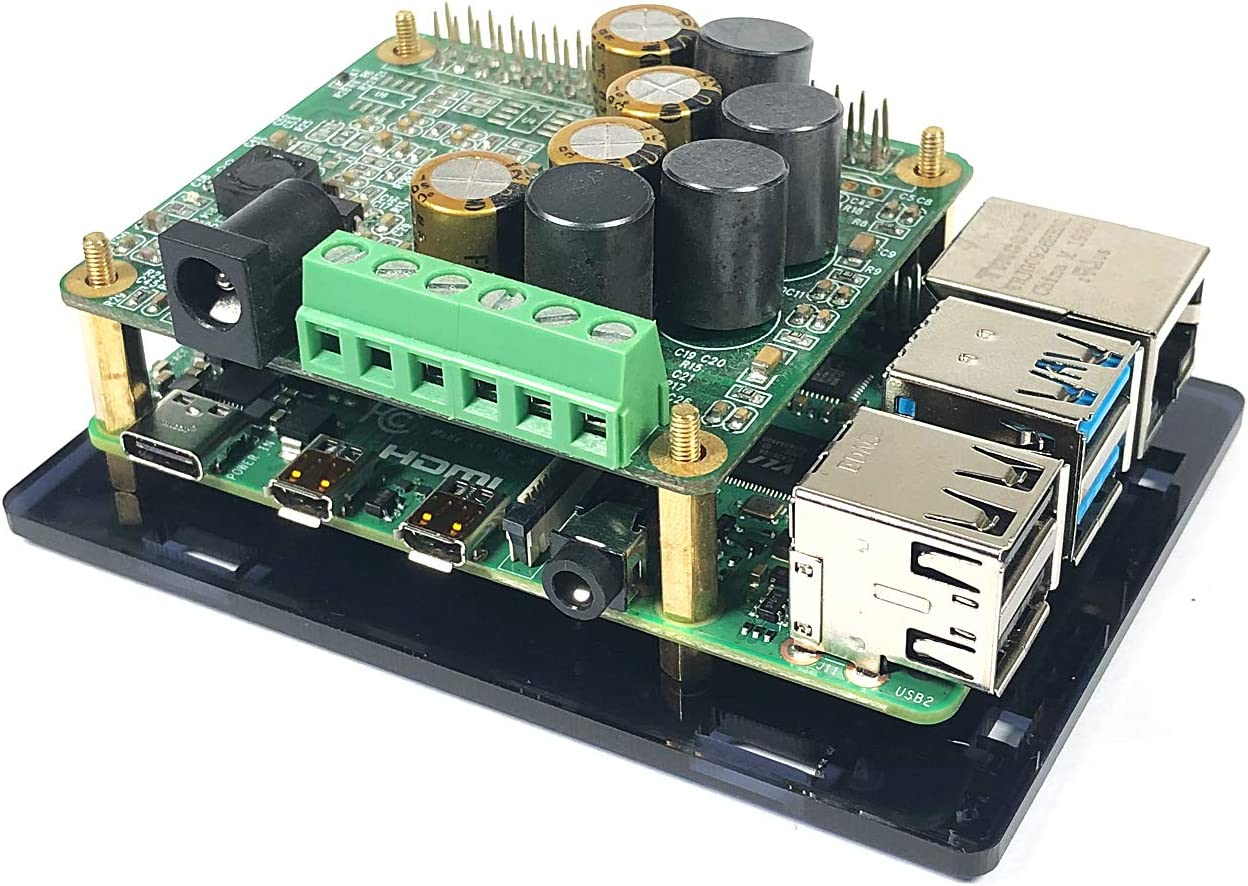 Acrylic Case for InnoMaker AMP Hat HiFi Audio Module Works with Raspberry  Pi 4 3B B+: Amazon.de: Baumarkt
