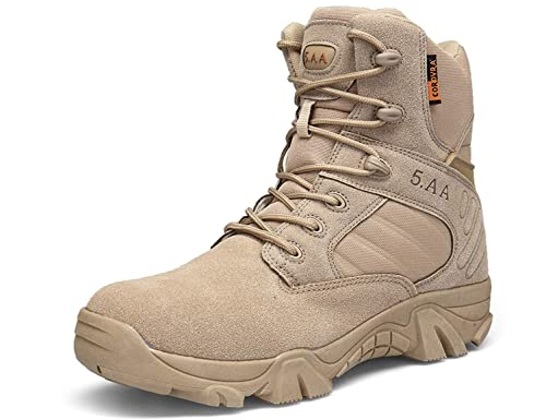 SINOES Tactical Boots Zip Breathable