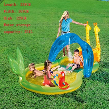 Amazon.com: Children\'s Paddling Pool Inflatable Ball ...
