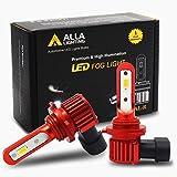 Alla Lighting Newest H10 9145 LED Fog Lights Bulb AL-R Vision 5200 Lumens Xtreme Super Bright 12V PY20D Base 9140…
