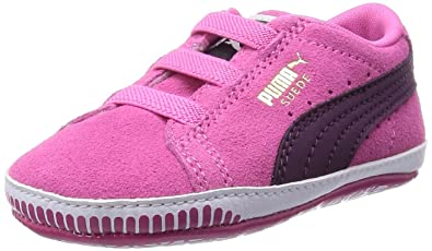 Sneakers 19 Suede Mode Bebe Puma Crib Rose Chaussures Cuir T AIqUUzwx