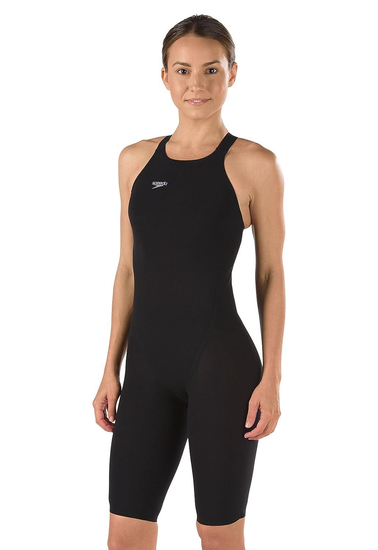 Speedo 7190722レディースLZRエリート2 Closed Back Swimsuit B00I0EWT3E ブラック 28 28|ブラック