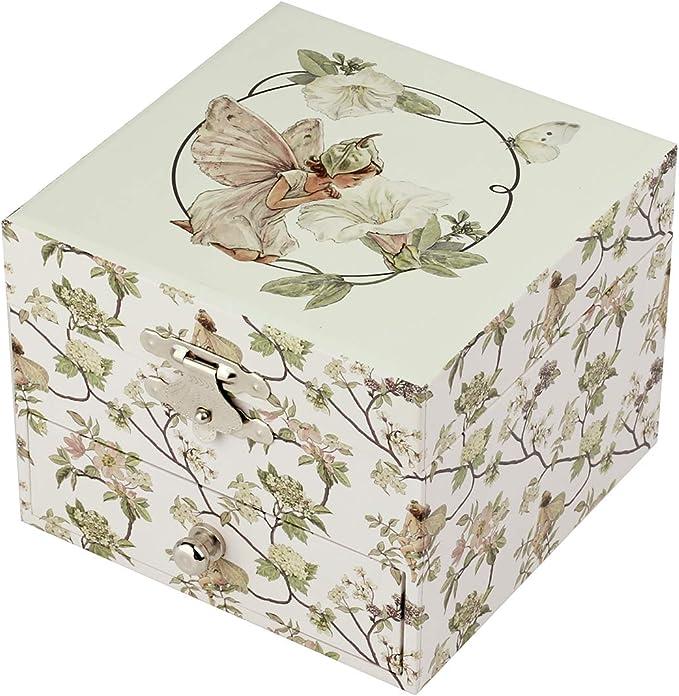 Trousselier SA - Caja de música, diseño de flores y hadas , color/modelo surtido: Amazon.es: Juguetes y juegos