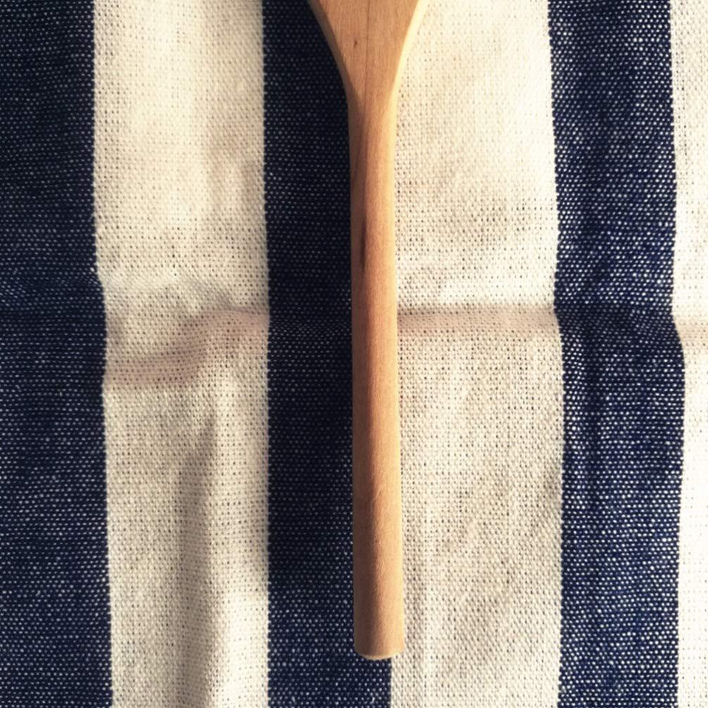 Hemoton Cucchiaio di Legno Mescolando con Un Buco Cucchiaio di Frullino per Le Uova Cucchiaio di Miscelazione per t/è Marmellata di caff/è Miele Strumento di Cottura della Cucina Forniture 15 Cm