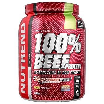 De proteína de suero CARNE 100 por Nutrend Sabor chocolate Helznut ...