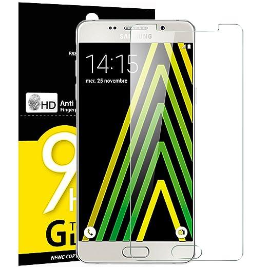 29 opinioni per Vetro Temperato Samsung Galaxy A5 2016, Pellicola Protettiva NEW'C® in Vetro