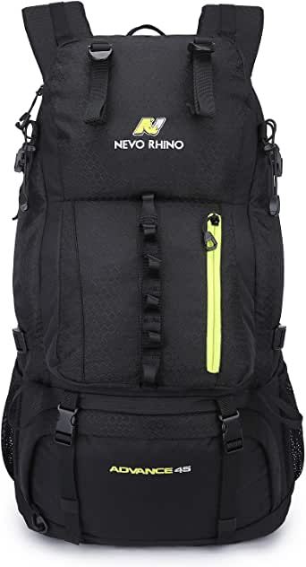 NEVO RHINO 45/50L Internal Frame Hiking Backpack,Ultralight Daypack for Camping Backpacking...